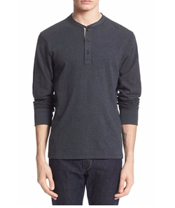 Standard Issue Henley Shirt by Rag & Bone in The Night Manager