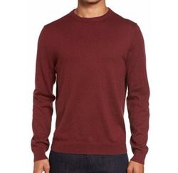 Cotton & Cashmere Crewneck Sweater by Nordstrom Men's Shop in Love, Simon