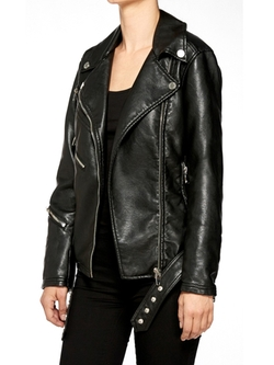 Ol' Lady Moto Jacket by Blanc NYC in The Vampire Diaries