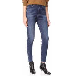 Roxanne High Rise Skinny Jeans by AGOLDE in The Fate of the Furious