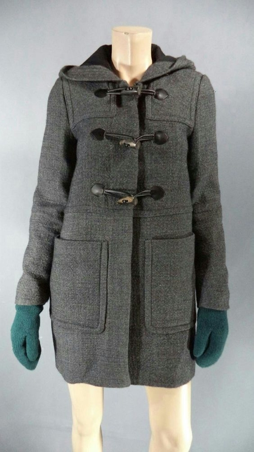 Wool Duffle Coat by Zara in If I Stay