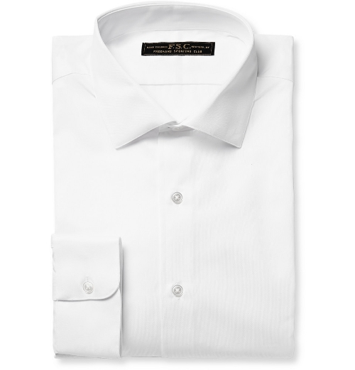 Slim-Fit Cotton-Piqué Shirt by Freemans Sporting Club in Love & Mercy