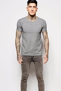 Stretch Cotton T-Shirt by Scotch & Soda in The Intern