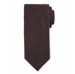 Silk-Cashmere Tie by Canali in Power