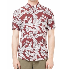 Floral Print Shirt by Topman in New Girl