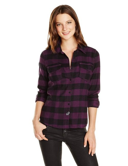 Juniors Compass Flannel Shirt by Fox in If I Stay