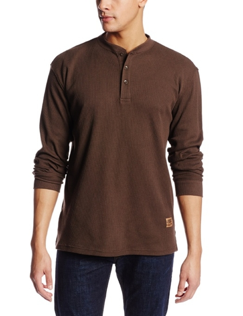 Henley Themal Shirt by Skechers in The Maze Runner