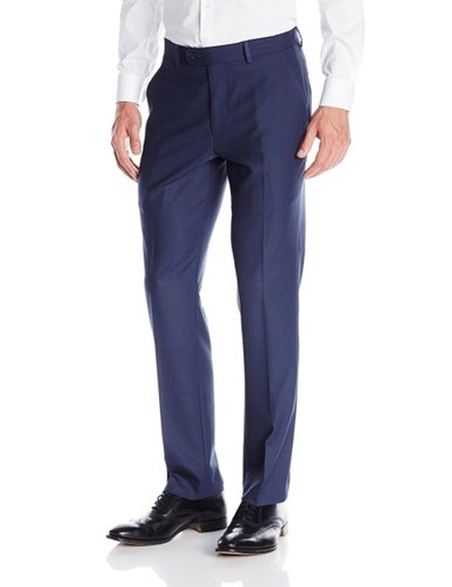 Men's Flat Front Suit Separate Pant by Perry Ellis in Hitman: Agent 47