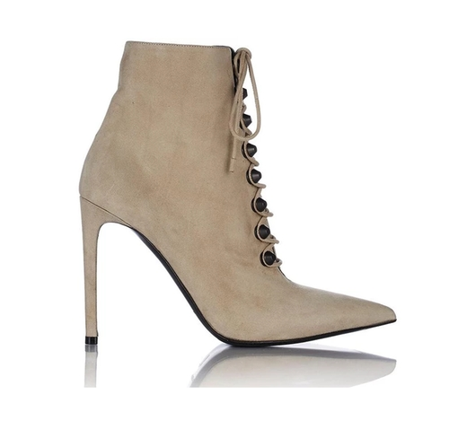 Studded Side-Zip Ankle Booties by Balenciaga in Keeping Up With The Kardashians