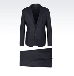 Two Button Suit by Emporio Armani in House of Cards