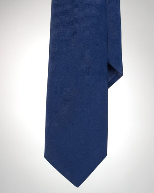 Solid Silk Tie by Ralph Lauren in Only God Forgives