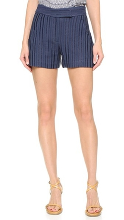 Tropicana Tailored Shorts by Veronica Beard in Gossip Girl