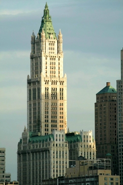 New York City, New York by The Woolworth Building in Sleeping with Other People