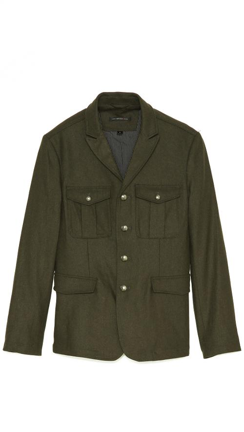 Military Jacket by John Varvatos Star USA in Edge of Tomorrow