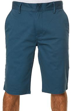 The Davis Slim Shorts in Pacific Blue by Altamont in The Hundred-Foot Journey