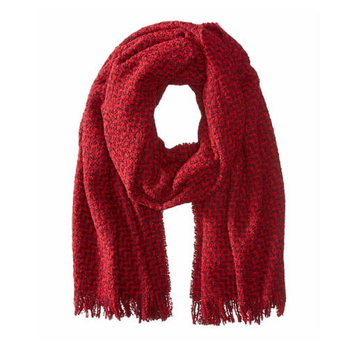 Chunky Boucle Yarn Scarf by Scotch & Soda in Me Before You