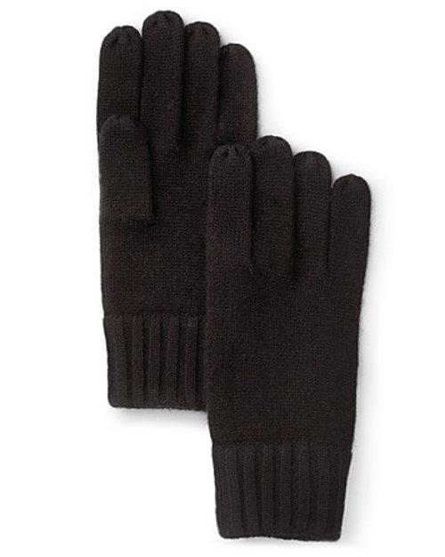 Solid Knit Gloves by Bloomingdales in That Awkward Moment