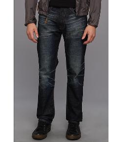 16 Straight Blue Athletic Denim Jean by Denim & Leathers by Andrew Marc in Ride Along
