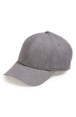 Adjustable Chambray Baseball Cap by Gents in Cut Bank