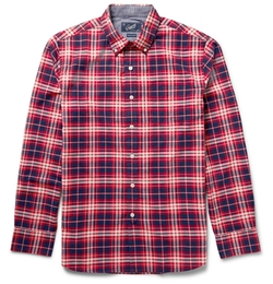 Checked Cotton Shirt by Grayers in The Flash