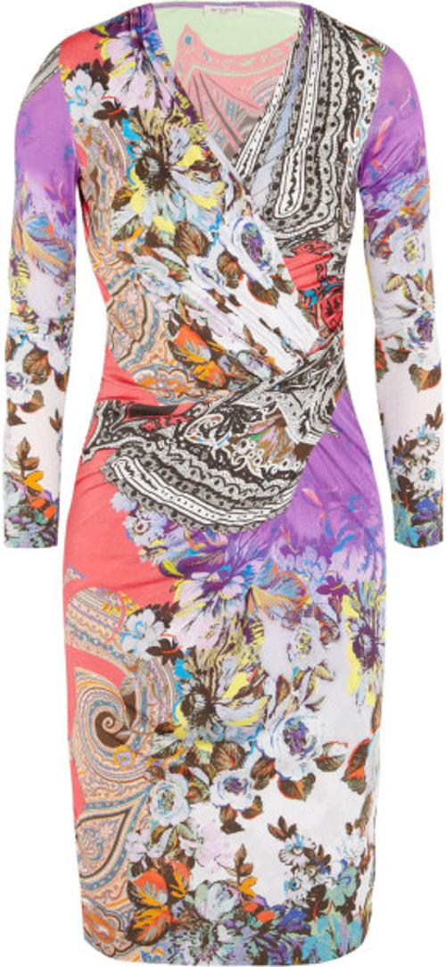 Printed Stretch-Jersey Dress by Etro in The Other Woman