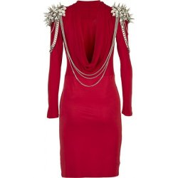 Spiked Shoulders Jersey Dress by The Bonds in Sex and the City 2