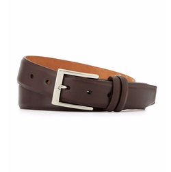 Basic Leather Belt by W.Kleinberg in Ballers