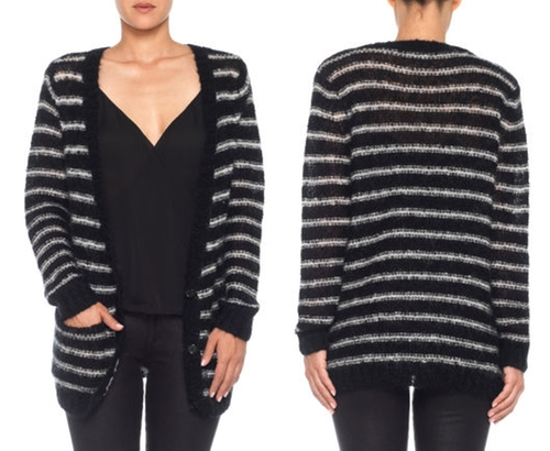 Johnny Cardigan Sweater by Joe's in How To Get Away With Murder - Season 2 Episode 7