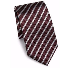 Striped Silk Tie by Hugo Boss in xXx: Return of Xander Cage
