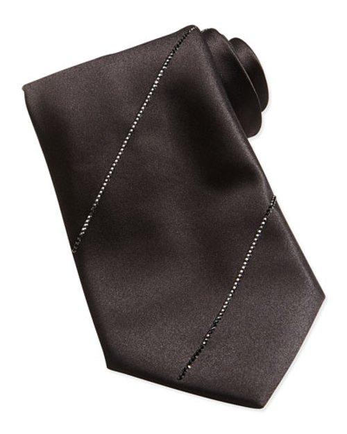 Swarovski Crystal Silk Tie by Stefano Ricci in Sherlock Holmes: A Game of Shadows