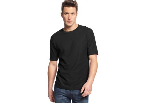 Crew-Neck Performance T-Shirt by Club Room in The Matrix