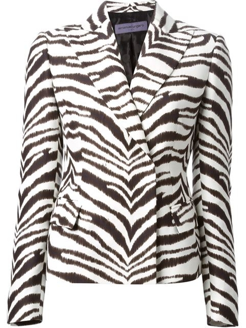Zebra Print Jacket by Emanuel Ungaro in Empire - Season 2 Episode 3