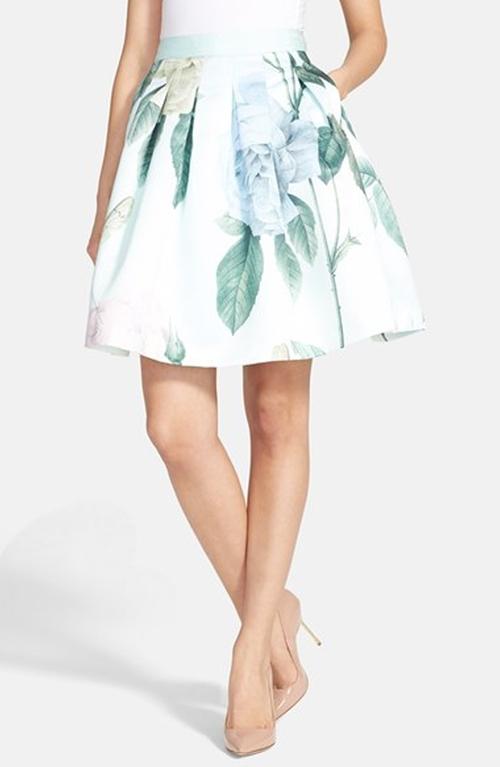 'Rose Maari' A-Line Skirt by Ted Baker London in Scream Queens - Season 1 Episode 7