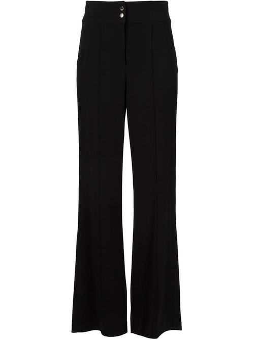 High Waisted Flared Trousers by A.L.C. in Elementary - Season 4 Episode 13