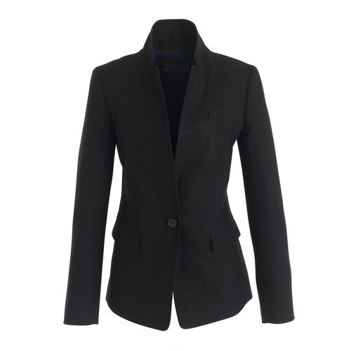 Linen Regent Blazer by J.Crew in Miss You Already