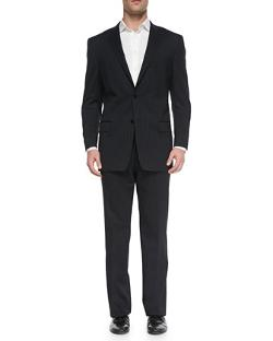 City-Fit 2-Button Wool Suit by Versace in Get On Up