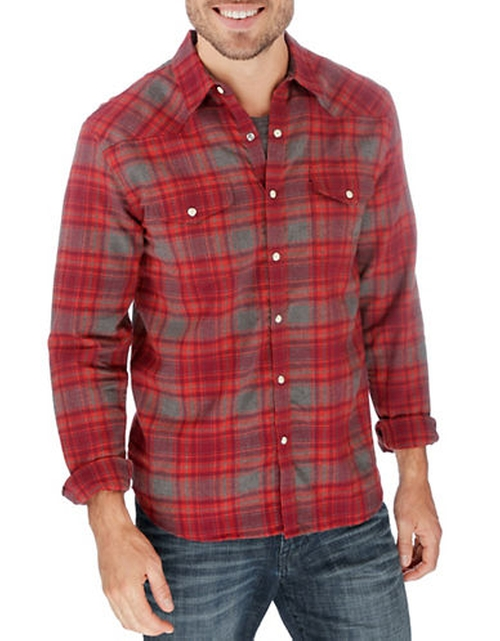 Catalina Plaid Sportshirt by Lucky Brand in Nashville - Season 4 Episode 8