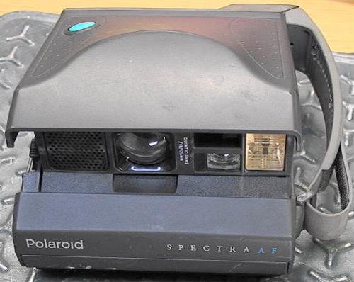 Spectra AF Instant Film Camera by Polaroid in Pain & Gain