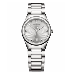 Stainless Steel Bracelet Watch by Victorinox Swiss Army in Guilt