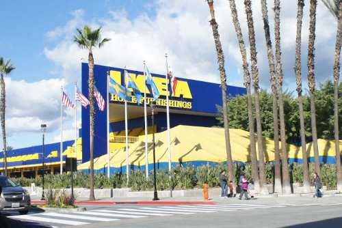 Ikea Burbank, California in (500) Days of Summer