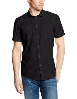 Men's Short Sleeve Double Pocket Woven Shirt by Calvin Klein Jeans in The Place Beyond The Pines