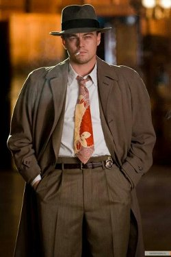 Custom Made Trench Coat (Leonardo DiCaprio) by Sandy Powell (Costume Designer) in Shutter Island