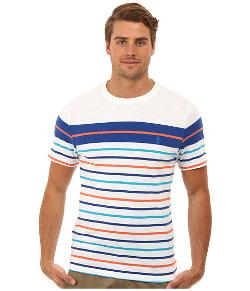 Men's Surf Stripe T-Shirt by Original Penguin in Project Almanac