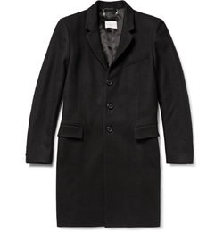 Wool-Blend Overcoat by Sandro in The Good Wife