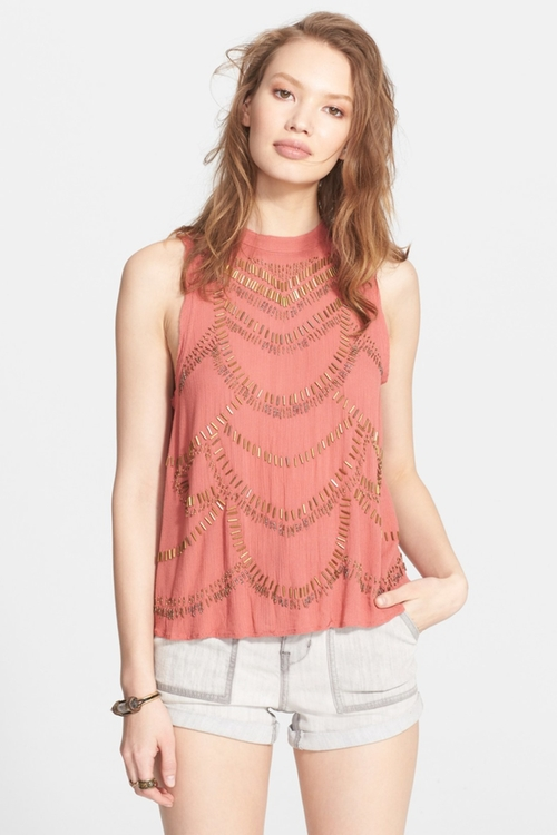 'Ferris Wheel' Sleeveless Top by Free People in Nashville - Season 4 Episode 6