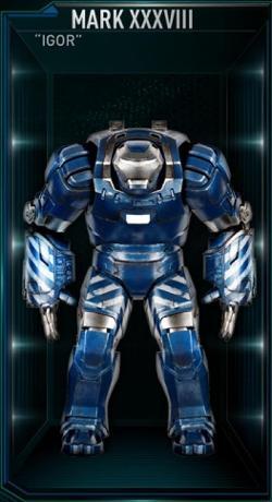 """Iron Man Mark 38 """"Igor"""" by Ryan Meinerding (Concept Artist) in Iron Man 3"""