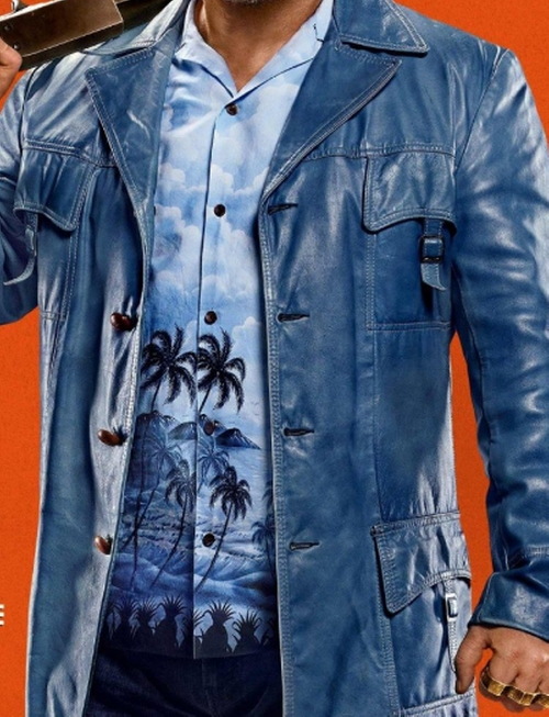 Custom Made Hawaiian Button Shirt by Anto Beverly Hills in The Nice Guys