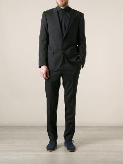 Slim Cut Suit by Boss Hugo Boss in A Good Day to Die Hard