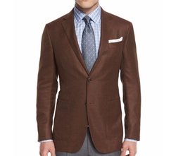 Wool Two-Button Blazer by Ermenegildo Zegna in The Fate of the Furious