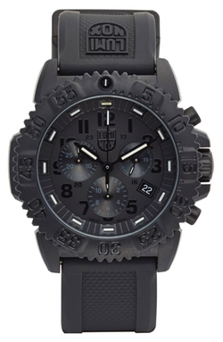 Chronograph Silicone Strap Watch by Luminox in Ballers